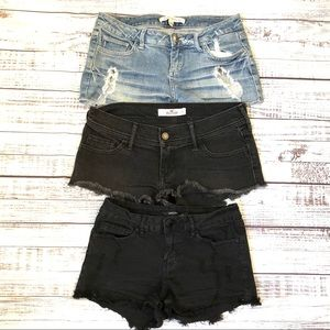 Mini Jean Shorts Bundle
